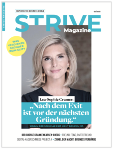 Cover STRIVE Magazine